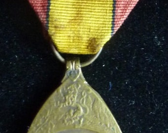 Belgium WW1 War Service Medal. Nice Condition.
