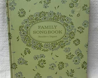 Reader's Digest Family Song Book copyright 1969