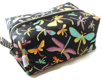 Dragonfly cosmetic bag