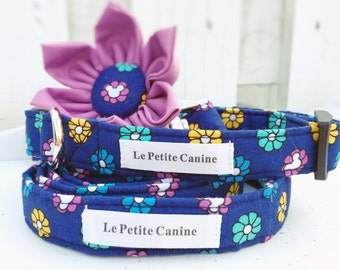 Dog Collar Set, Disney Dog Collar, Disney Girl,Dog Collars, Adjustable Dog Collar, Flower Dog Collar, Girl Dog Collar, Rosie-Star Collection