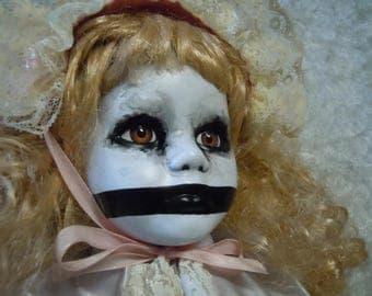 Creepy Doll  #109  no doll stand