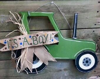 It's A Boy Tractor