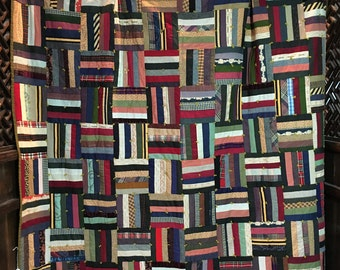 Quilt Log Cabin Style