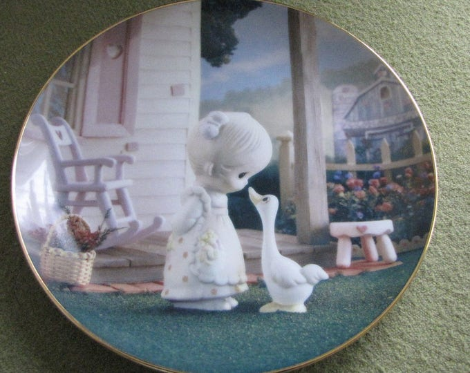 Precious Moments Decorative Plate Make a Joyful Noise The Hamilton Collection 1993  #4457I Classics Plate Collection