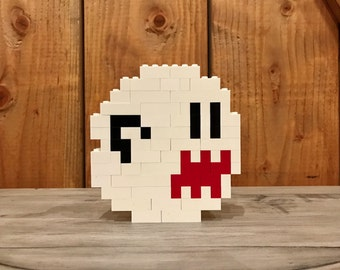 Boo (ghost) - Lego Sculpture