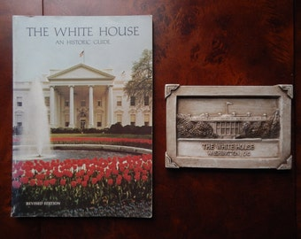 Vintage White House Historic Guide Book and Paperweight!