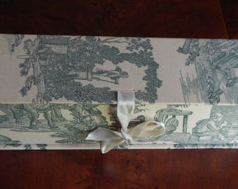 Made in France Toile Storage Box!
