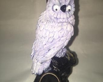 Tobacco Hand Made Pipe, White Owl Design