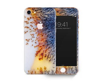 Agate marble 02 skin decal vinyl 3M quality iPhone 4 5 6 7 Samsung Galaxy S4 5 6 7 Galaxy Note