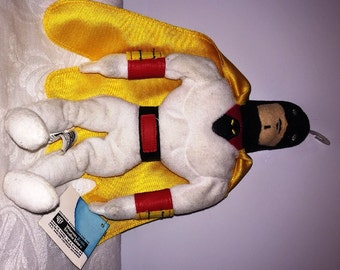 Vintage Space Ghost Plush Beanie Warner Bros Store 1990's New