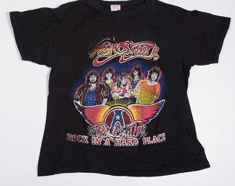 Vintage Aerosmith 80s Band Tshirt