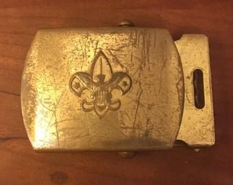 Vintage Boy Scout Belt Buckle