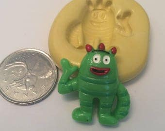 Small Monster Silicone Mold