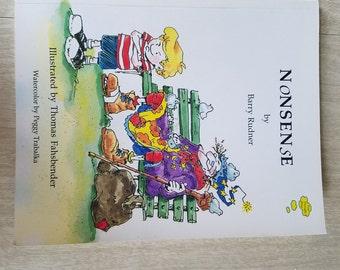 "Vintage Childrens Book ""Nonsense"" by Barry Rudner"