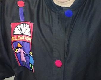 Long jacket Art Smock -L-