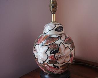 Vintage ceramics  lamp stand.
