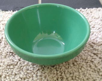 Small Green Melamine Bowl by G.E.T.