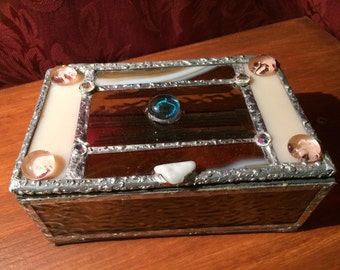 Treasure stain glass box