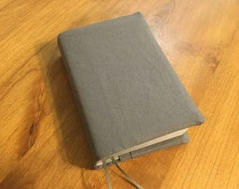 Gray - NWT Bible Cover with Pockets - Standard Size - JW Gifts