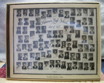 1970 Mahnonen MN Class Photo in matted display easel