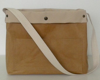 BAG OXFORD cellulose washable. Paper washable. Bag tote.