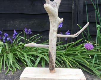 Driftwood Jewellery stand ring tree bracelet