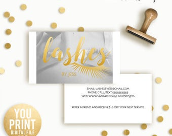 EyeLash Extension Business Card, Lashes Business Card, Customized Business Card, Eyelash Extensions Business card, DIGITAL, YOU PRINT