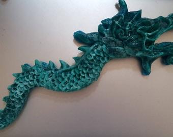 Resin Dragon Sculpture