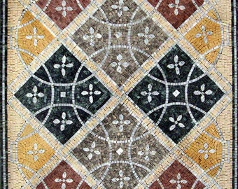 Colorful Mosaic Art Tile
