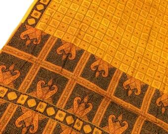Pure Silk Sari, vintage sari, Indian dress, saree traditional fabric, home decor, clothes, craft, sewing, PSS2067