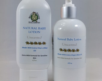 Baby Lotion, Natural Baby Lotion, Unscented Baby Lotion, Baby Cream, Baby Moisturizer,