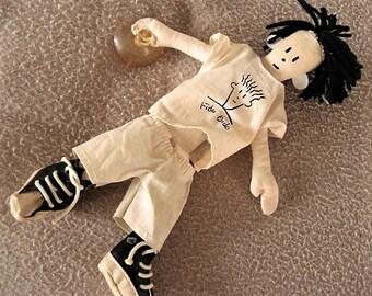 """Fido Dido Doll (circa 1980s) 10"""""""