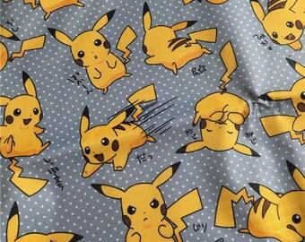145cm*50cm/57*19.7 Inch Pokemon Go Pikachu PVC Nylon Waterproof Fabric
