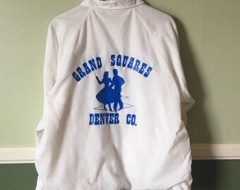 """Vintage """"Grand Squares"""" Dancing Jacket"""