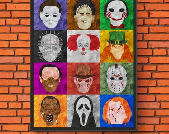 Horror Pop Art Print