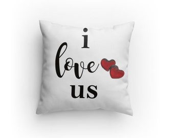 Pillow - I love us