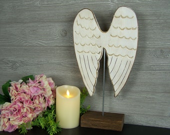 Wooden Angel Wings Wall Decor angel wings wall art guardian angel decor angel wings decor
