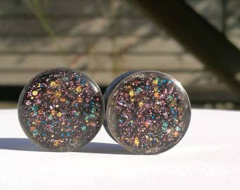Spacy Sparkle Glitter Plugs, 20mm
