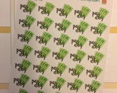 35 payday stickers for Erin Condren Life Planner Filofax Gillio Inkwell Traveling Notebooks #SWM243
