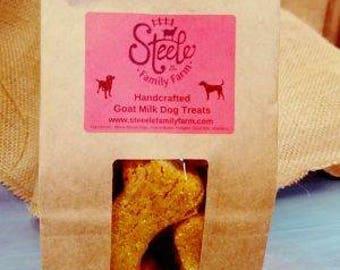 Handcrafted Goat Milk Dog Treats