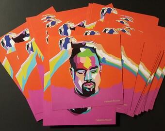 Mood Kanye sticker by Vakseen - Kanye West Art - Kanye Sticker - Hip Hop Art - Skateboard Stickers - Music Art Stickers - Music gift idea
