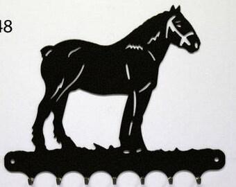 Hangs key pattern metal: heavy horse