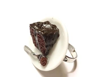 Miniature Chocolate Cake Ring