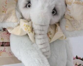Ellie Artist Teddy Elephant OOAK