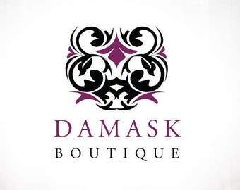 Premade Logo Design • Damask