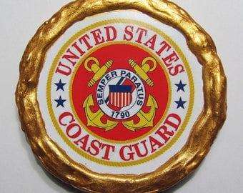 NEW!!! - U.S. Coast Guard Logo Magnet - Multi-Colored - Refrigerator Magnet