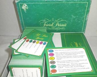 Trivial Pursuit Sports Card Set