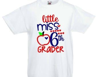 Little Miss School Spirit Shirt