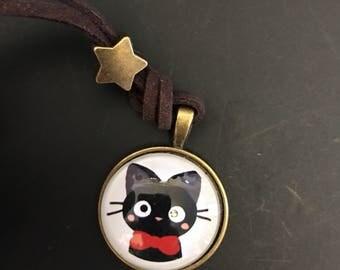 Studio Ghibli Kiki's Delivery Service Jiji black cat japan anime cosplay necklace