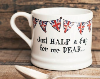 Just Half a Cup For Me Dear mug (small)
